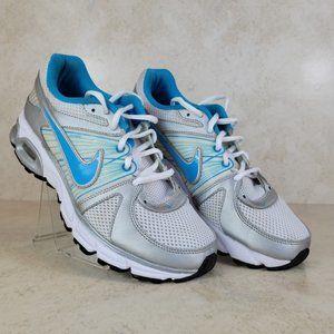 NIKE moto 9 running shoes blue Sz 8.5